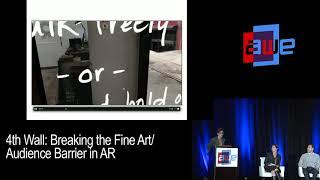 4th Wall: Breaking the Fine Art/Audience Barrier in AR