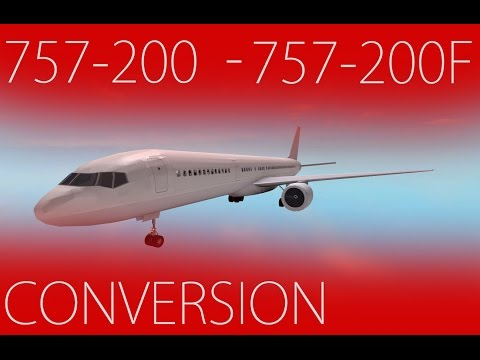 Boeing 757-200 to 757-200F Conversion