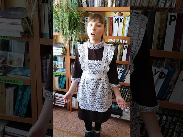 Изображение предпросмотра прочтения – ПолинаНикитенко читает произведение «Ворона и Лисица» И.А.Крылова