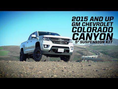2017 Chevy Colorado 5.5' BDS Lift   Doovi