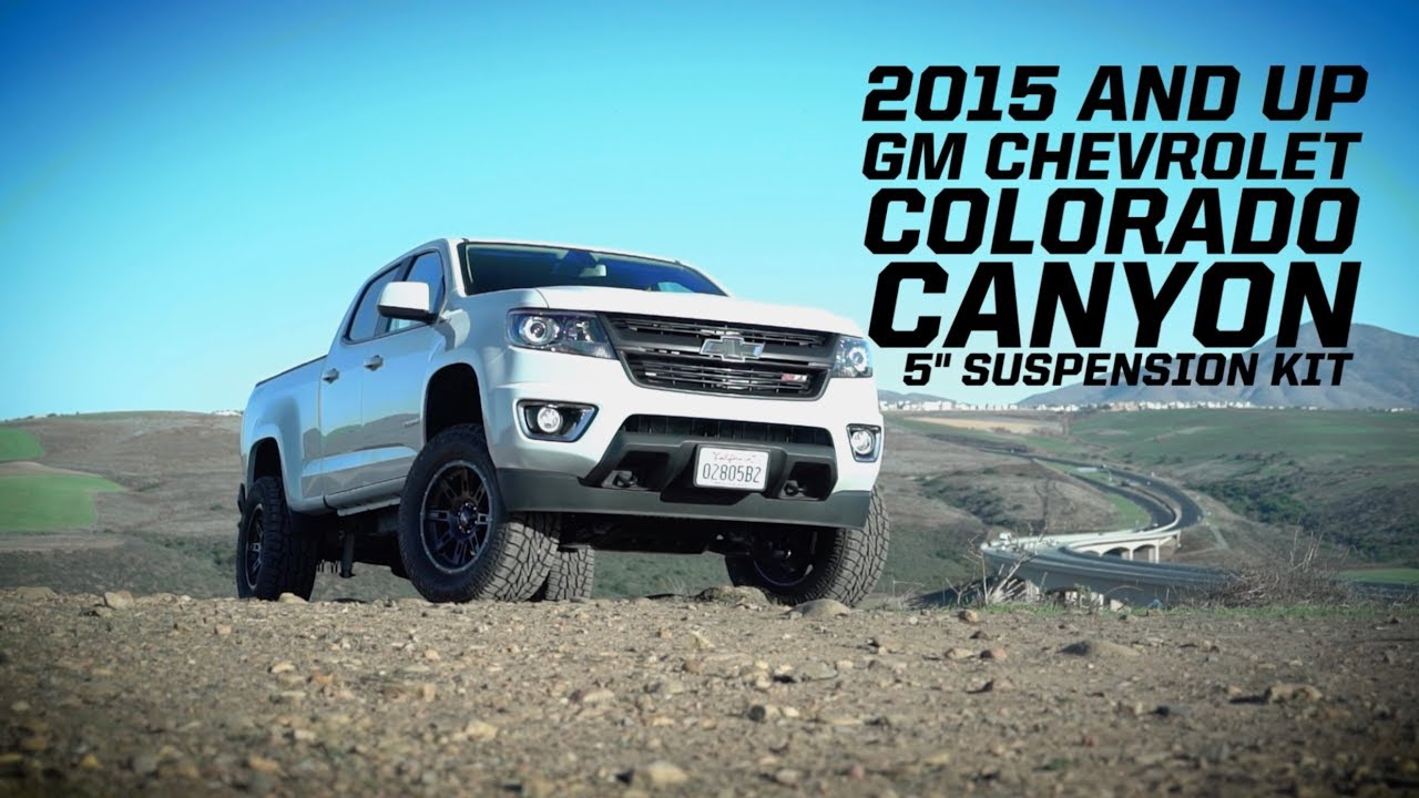medium resolution of pro comp 5 suspension lift kit for 2015 2018 chevy colorado gm canyon