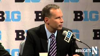 Chris Collins 2013 Big Ten Basketball Media Day Press Conference