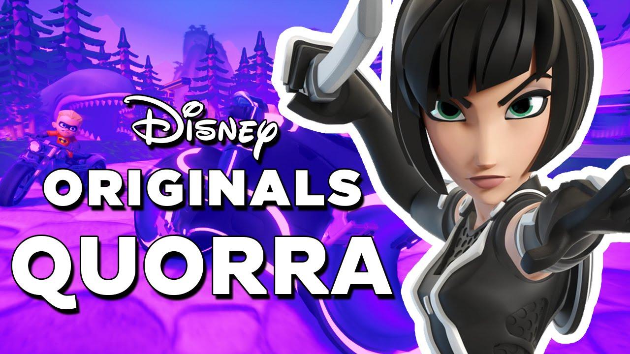 disney infinity 2.0 quorra (tron) gameplay and skills - youtube