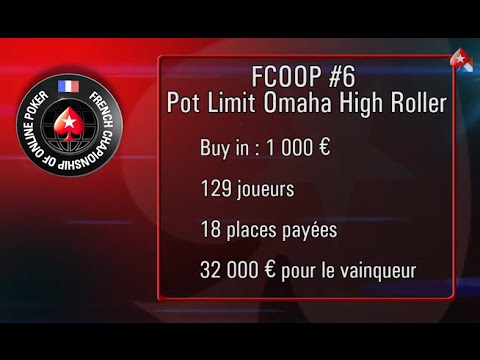 Omaha poker - Table Finale FCOOP - par Gabriel Nassif