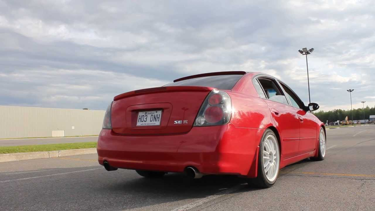 Altima SE-R Sound clip - YouTube