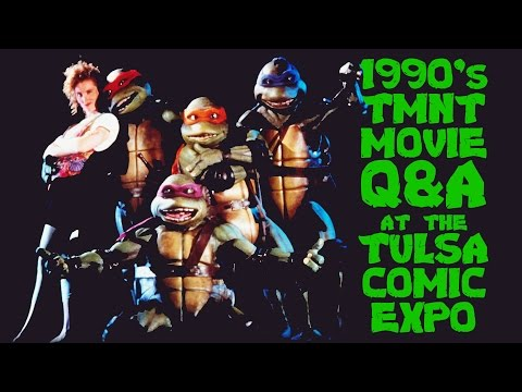 TMNT Q&A w/ 1990's Movie Actors at the Tulsa Comic Expo! (2015)