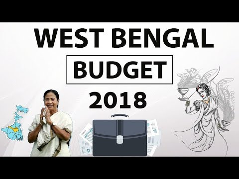 Budget of West Bengal 2018 analysed in detail for WBPSC and other state exams - Budget 2018-19
