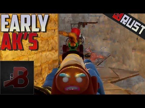 Early AK's - Rust thumbnail