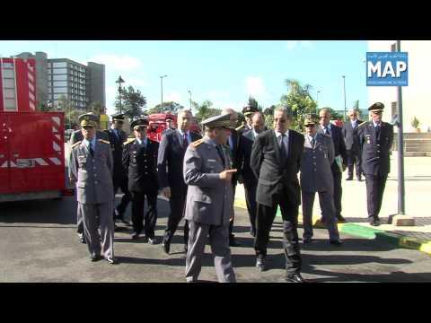 Inauguration du siége de la direction générale de la protection civile