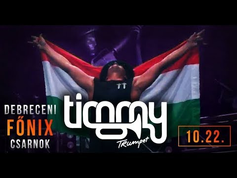 TIMMY TRUMPET @ Debrecen, Főnix Csarnok 2017 [Full Set]