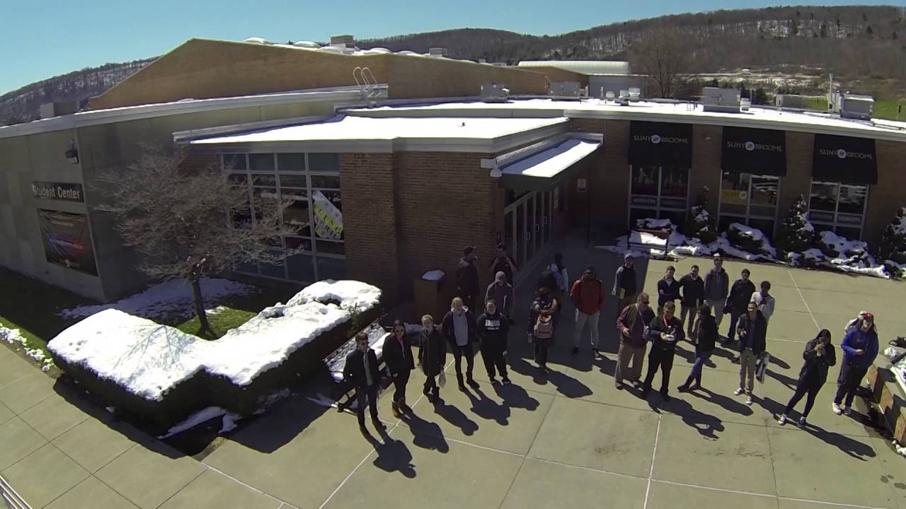 Drone Video from B&H Equipment Roadshow at SUNY Broome