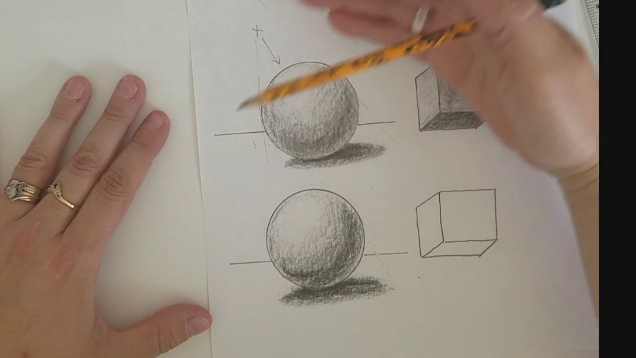 value lesson 2 shading a sphere and cube