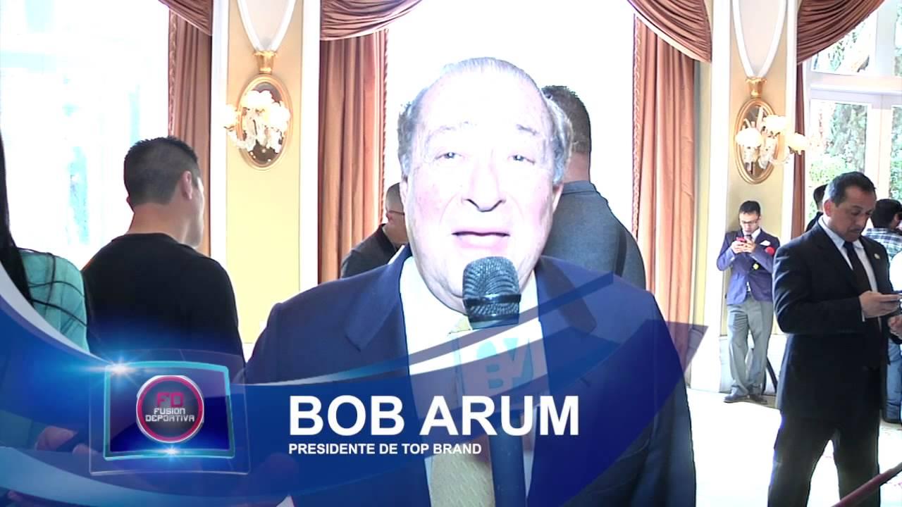 Bob arum felicita a bereavision por su cuarto aniversario for Cuarto aniversario