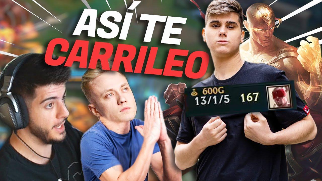 ASÍ CARRILEA RAZORK A REKKLES CON SU LEE SIN 81% WINRATE!!! | ElmiiloR
