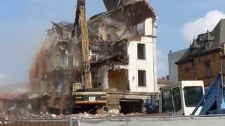 Abriss Hotel  Matheis, Pirmasens