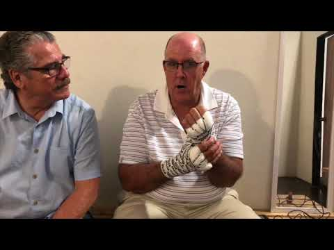 Stitch Duran explains stacking method of hand wrapping that created controversy at Canelo-GGG I
