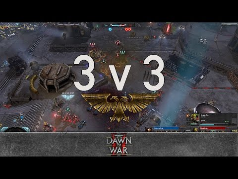 Dawn of War 2 - Faction Wars 2017 | Chaos Space Marines vs Orks