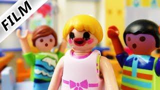 Kinderfilm Familie Vogel | HANNAH GESCHMINKT IN SCHULE - Kind trägt Makeup | Playmobil Film deutsch