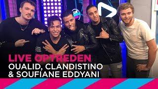 Oualid, Clandistino & Soufiane Eddyani doen 'Karima' [LIVE]   SLAM!