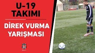 Beşiktaş U-19 Takımı Direk Vurma Yarışması