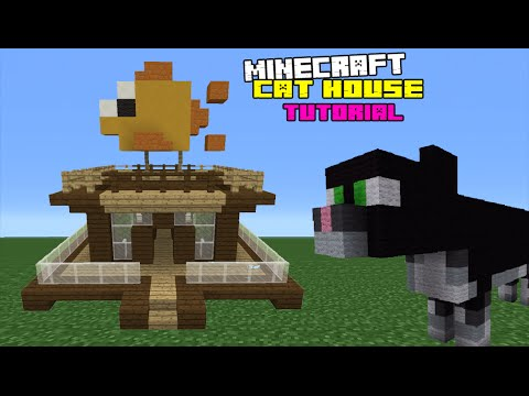 Minecraft tutorial how to make a cat house youtube minecraft tutorial how to make a cat house ccuart Images