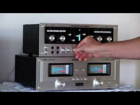 Vintage Stereo Marantz 300DC Amplifier plus