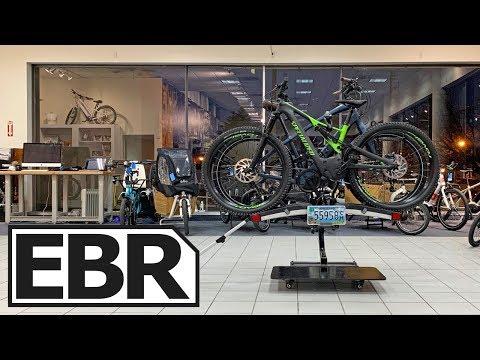 Thule EasyFold XT 2 Bike Rack Review - $749 Lightweight, Rolling, Folding