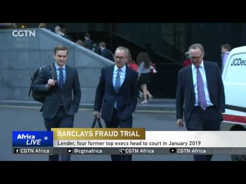 Barclays, four former top executives head to court in January 2019