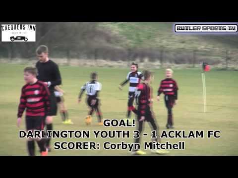 Darlington Youth U12s Vs. Acklam FC U12s 15/03/2015