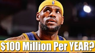 Why The HIGHEST PAID Player In The NBA Is Still MASSIVELY UNDERPAID! (LeBron James)
