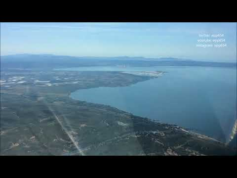 Landing in Marseille Provence Airport 13L [HD] 1080p