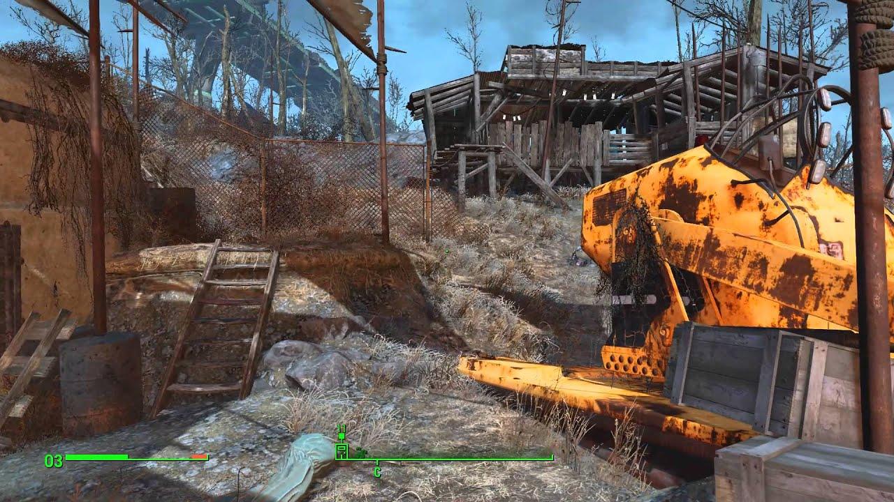 Fallout 4 федеральный продовольственный склад как открыть
