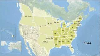 US Historical State/Territorial Boundaries