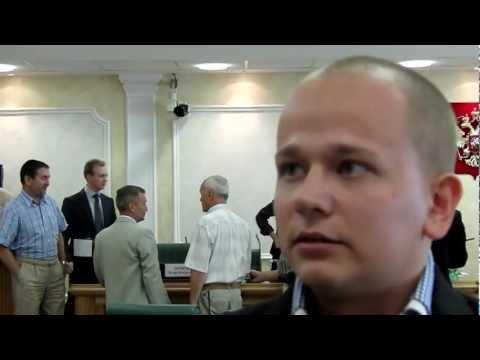 Евгений Валяев - 24 июля 2012, Совет Федерации