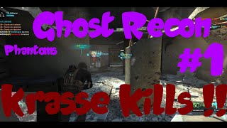 Ghost Recon Phantoms gameplay / Krasse Kills mit dem lieben Toki [german] [PVP] [HD]