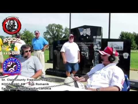 Bob Romanik Live Broadcast from Cahokia 7-29-2015