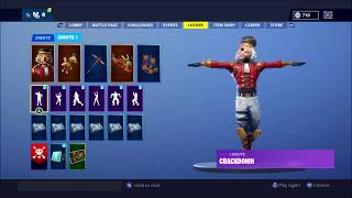 ! ! ! Fortnite Legendary Crackshot Skin et New Ultimate Epic Crackdown Dance ! ! ! !