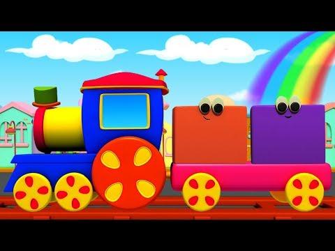 Bob Kereta | Warna Untuk Anak-anak | Bob Colors Train | Educational Video For Kids | Colors With Bob