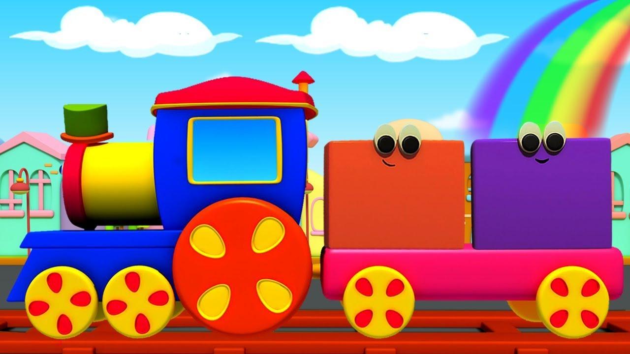 Gambar Kereta Api Kartun Berwarna Bob Kereta Warna Untuk Anak Anak Bob Colors Train Educational Video For Kids Colors With Bob Youtube