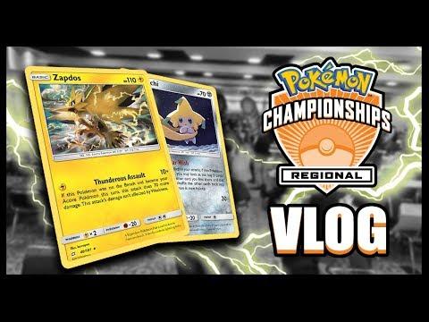 Collinsville, IL Pokemon TCG Regional Championships Vlog!