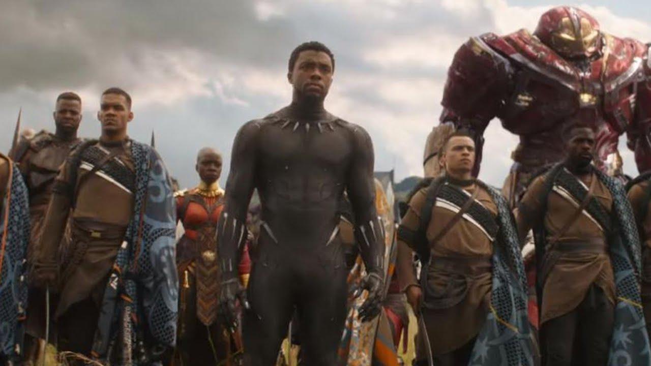 "Download Avengers: Infinity War (2018) - ""Battle Of Wakanda"" | Movie Clip HD"