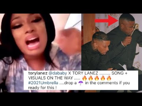 Megan thee stallion goes 0ff after Dababy collabs with Tory Lanez??
