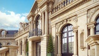Архитектурный проект дворца (построенный дом)(http://www.topdom.info/portfolio/rl110.php – фото и обзор проекта на сайте строительной компании ТопДом Арт. ➨ В архитектур..., 2016-05-25T11:03:56.000Z)