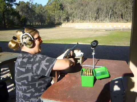 Shooting the 458 Win Mag AKA Elephant Gun : )