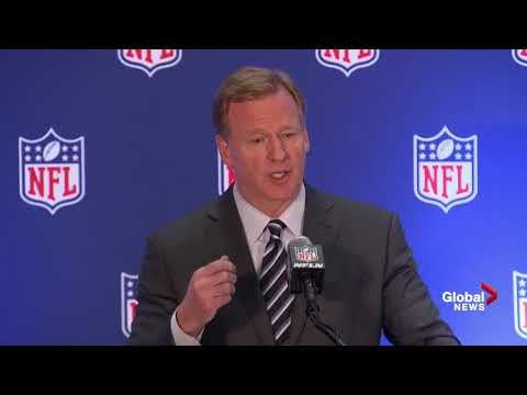 Roger Goodell says all NFL players should stand for the national anthem