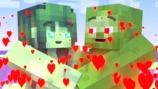 Top 10 | All episode |  Love Story Minecraft Animations | Season 1
