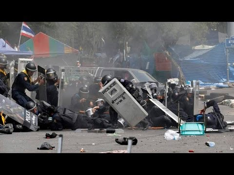 Deadly Clashes In Thailand Kill Three As PM Charged With Corruption