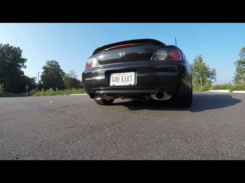 Honda S2000 Tanabe Medalion Touring Exhaust