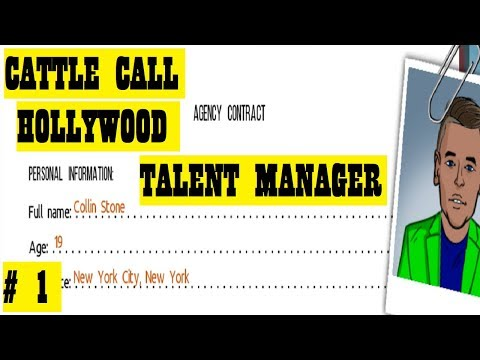 "Let's Play: Cattle Call Hollywood Talent Manager Part 1: ""A Shady Beginning"""