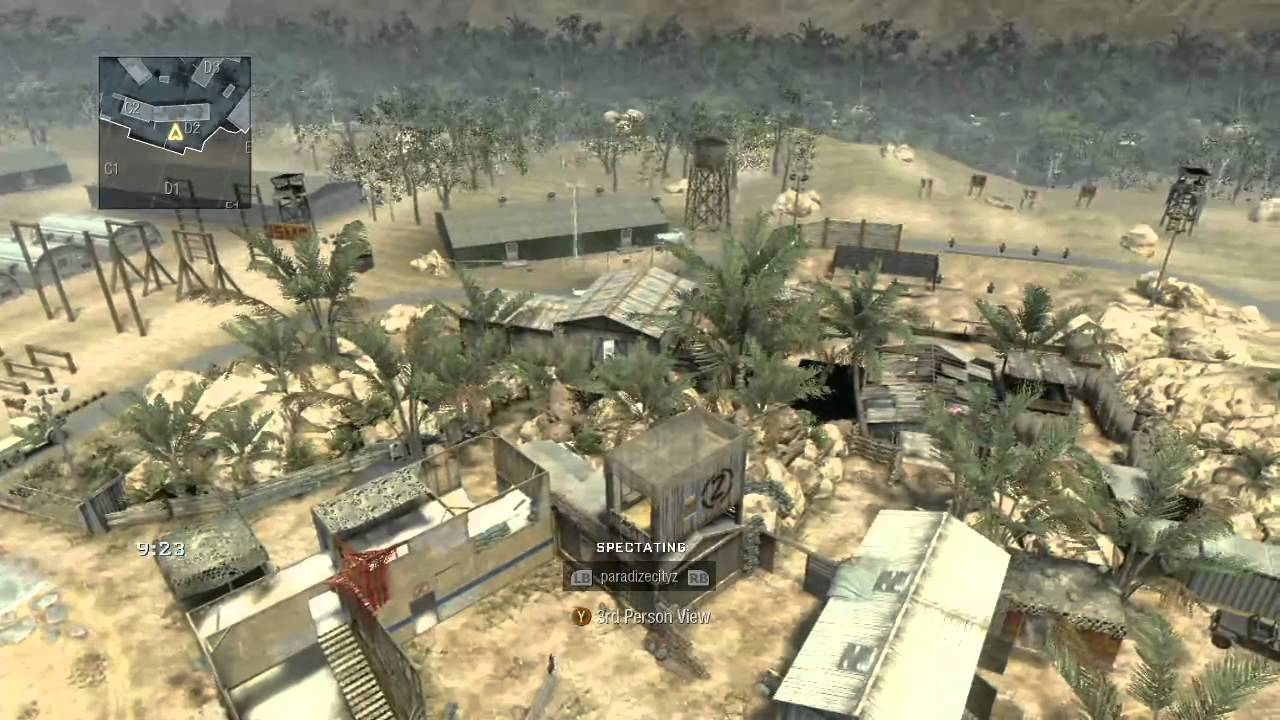 Call of Duty: Black Ops | Firing Range map Overview - YouTube